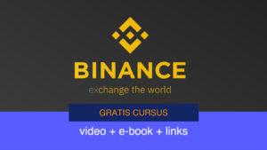 Gratis cursus Binance