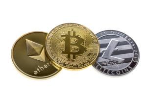 Bitcoin, ethereum, litecoin te koop
