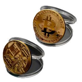 Bitcoin munt te koop
