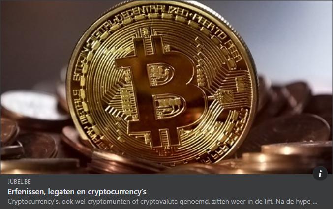 Jubel erfenissen en crypto