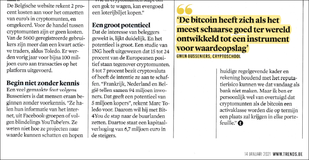 Interview Trends CryptoSchool