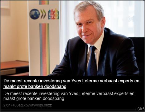 scam Bitcoin Era Yves Leterme
