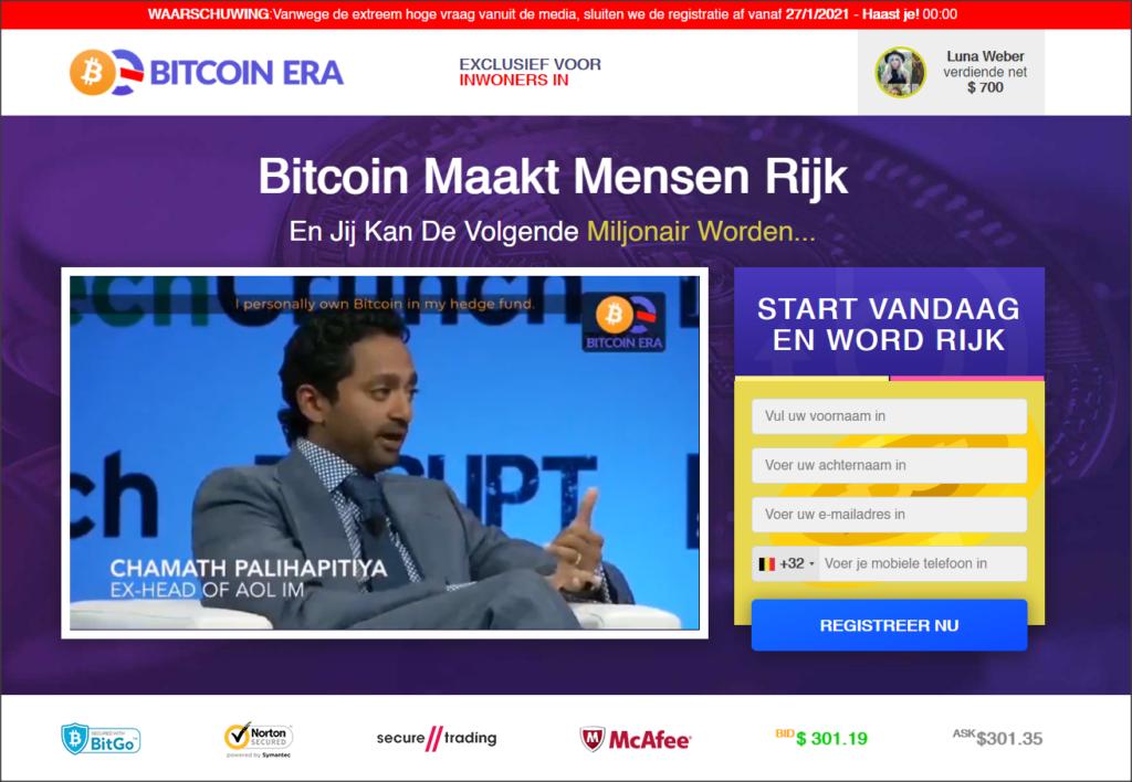Fraude Bitcoin Era