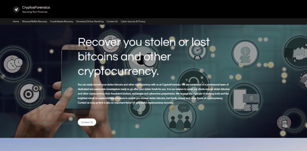 scam cryptosforensics