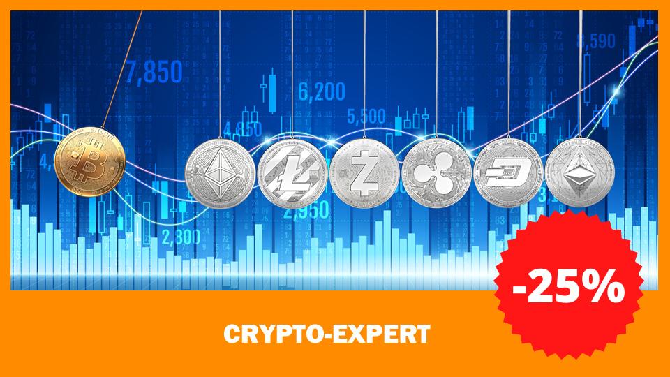 cursus crypto expert 25%korting