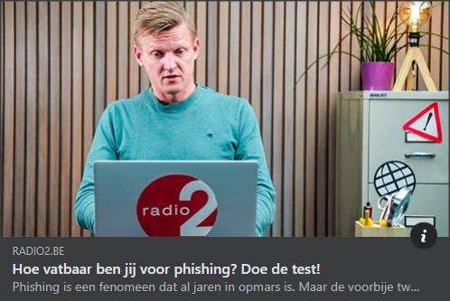 Hoe vatbaar ben jij voor phishing Radio2